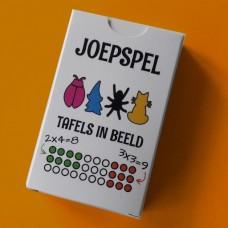 Joepspel -- Tafels in beeld