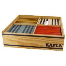 kapla 8 kleuren 100 plankjes