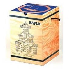 kapla 280 plankjes in houten kist + boek