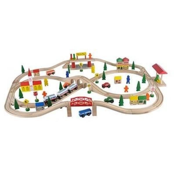 Spoorweg set 101 stuks