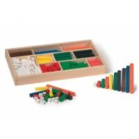 houten rekenstaafjes - set van 300