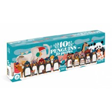 1-2-3 Penguins progressieve puzzel