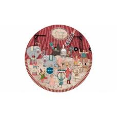 Circus Round puzzle 24stuks