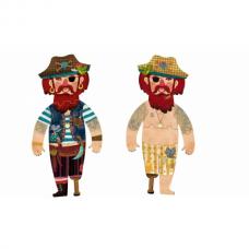 My pirate puzzel 10stuks