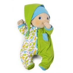 pyama voor rubens baby: groen