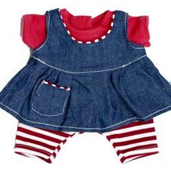 Jeanskleedje voor Rubens Kids/ark