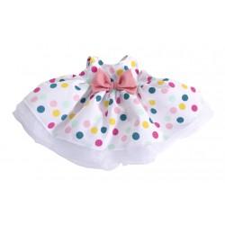 Prachtig stippenkleedje voor rubens kids/ark poppen