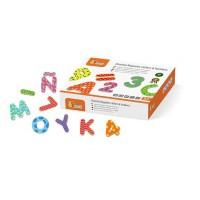 magneten letters en cijfers 77 stuks