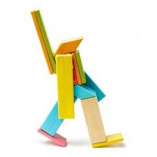 Tegu magnetische blokken: set 14 blokken tints